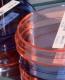 Чашки Петри пластиковые цветные
